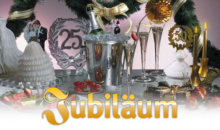 dekoration jubil um dekorationen f r feste partys von