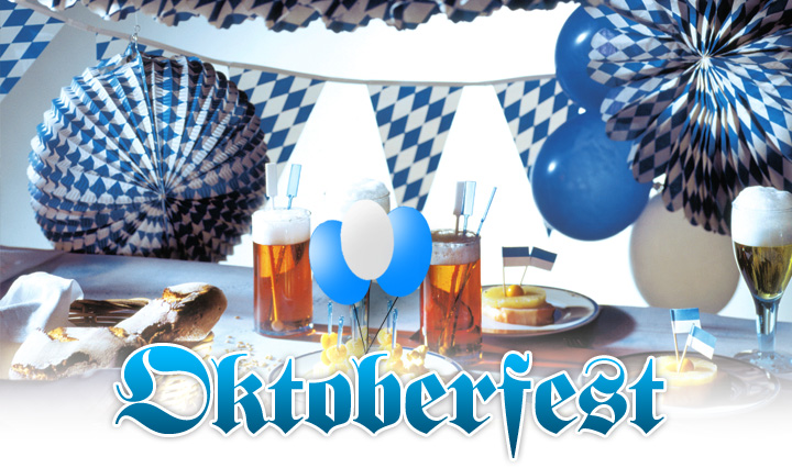 dekoration oktoberfest dekorationen f r feste partys. Black Bedroom Furniture Sets. Home Design Ideas